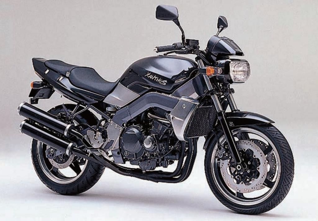 Мануалы и документация для Kawasaki Xanthus 400 (ZR400D)