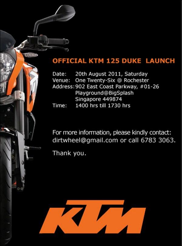 Обзор мотоцикла KTM 125 Duke