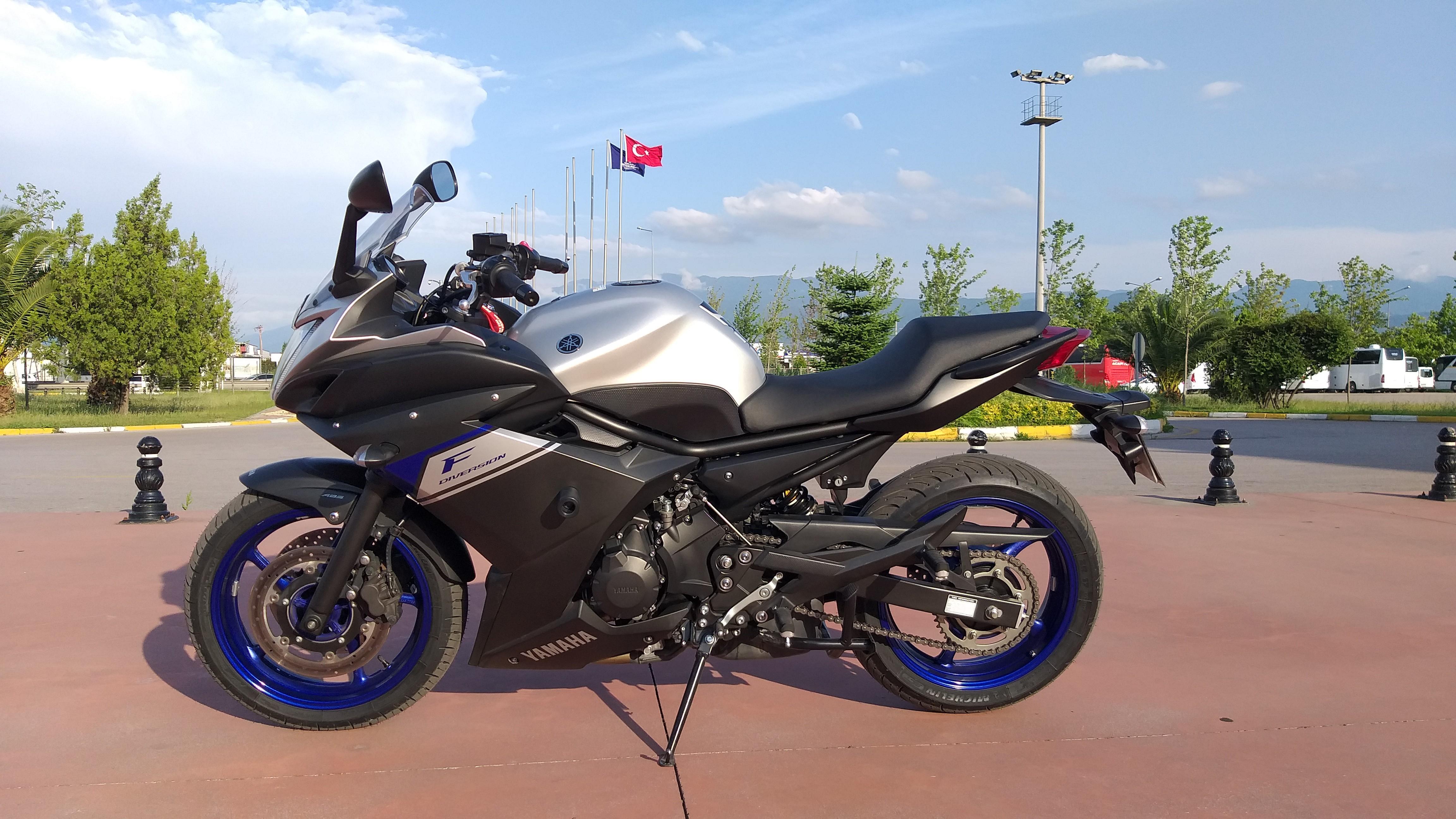 Тест-драйв мотоцикла Kawasaki ER-6F