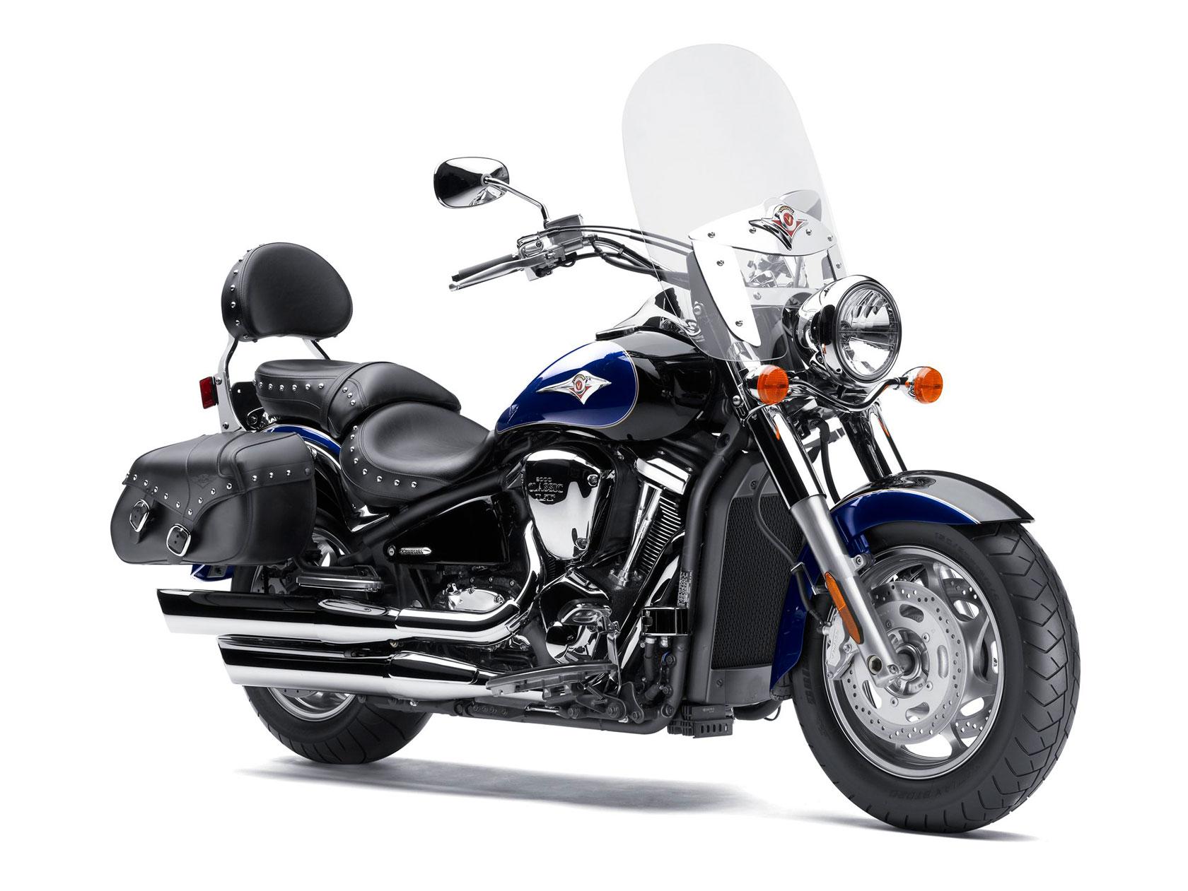Тест-драйв мотоцикла Kawasaki VN2000 Vulcan