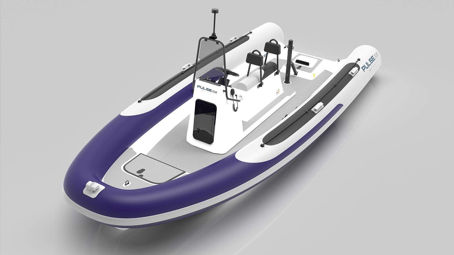 Электрическая лодка Fusion