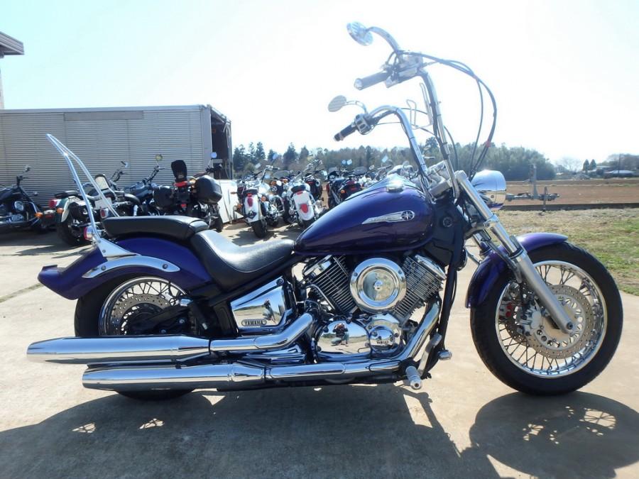 Тест-драйв мотоцикла Yamaha XVS1100 Drag Star