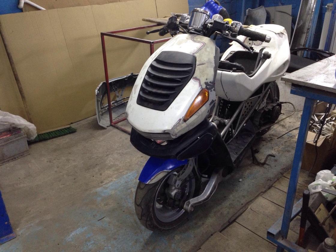 Ремонт и восстановление пластика мотоцикла