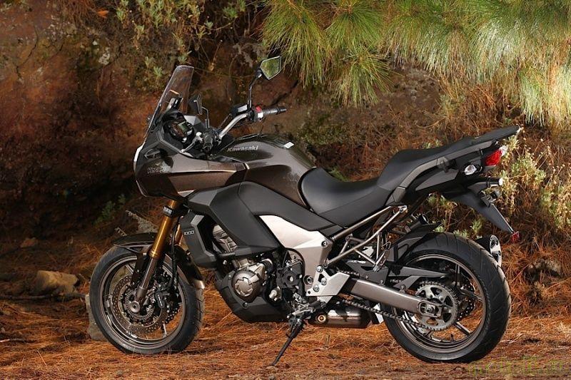 Тест-драйв мотоцикла Kawasaki Versys 1000