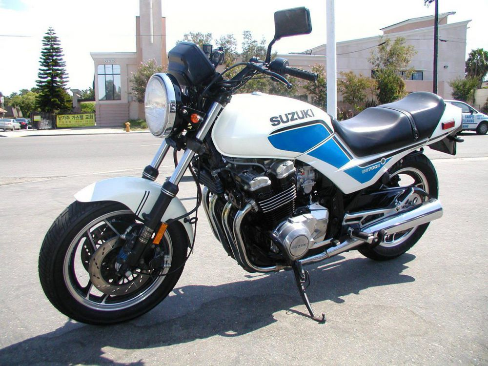 Тест-драйв мотоцикла Suzuki GS500E