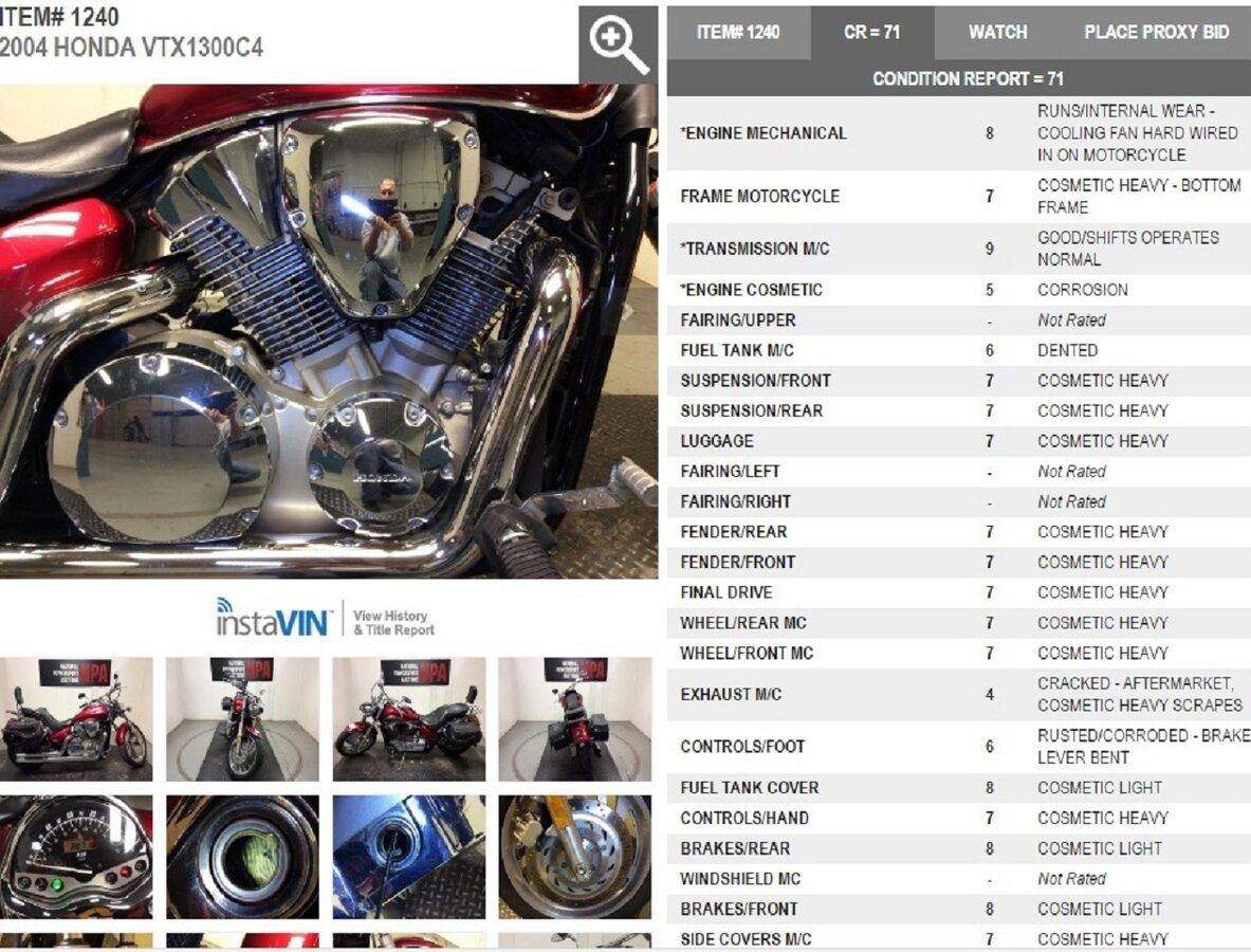 Мануалы и документация для Honda VTX1300
