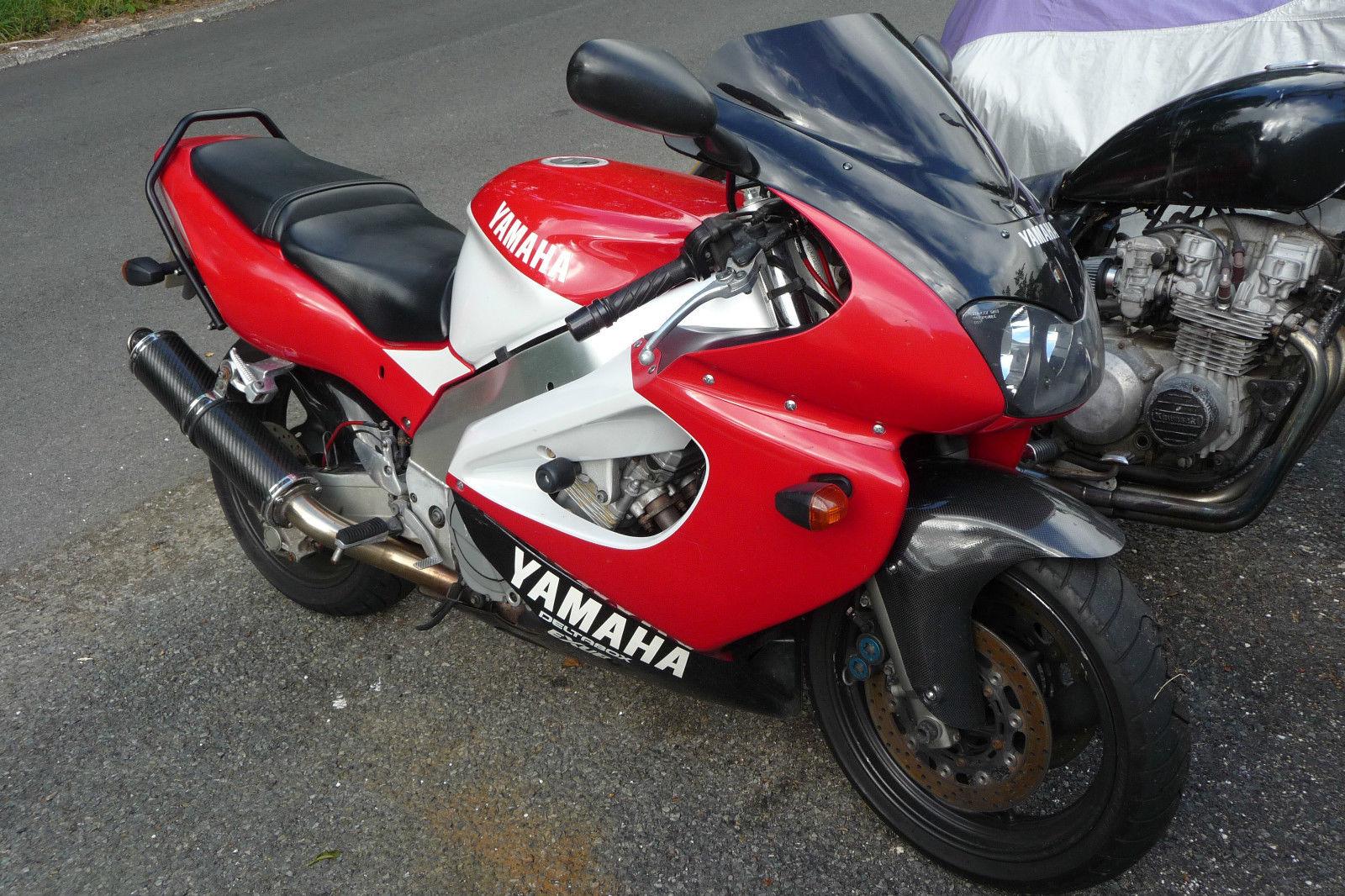Тест-драйв мотоцикла Yamaha YZF1000R Thunderace