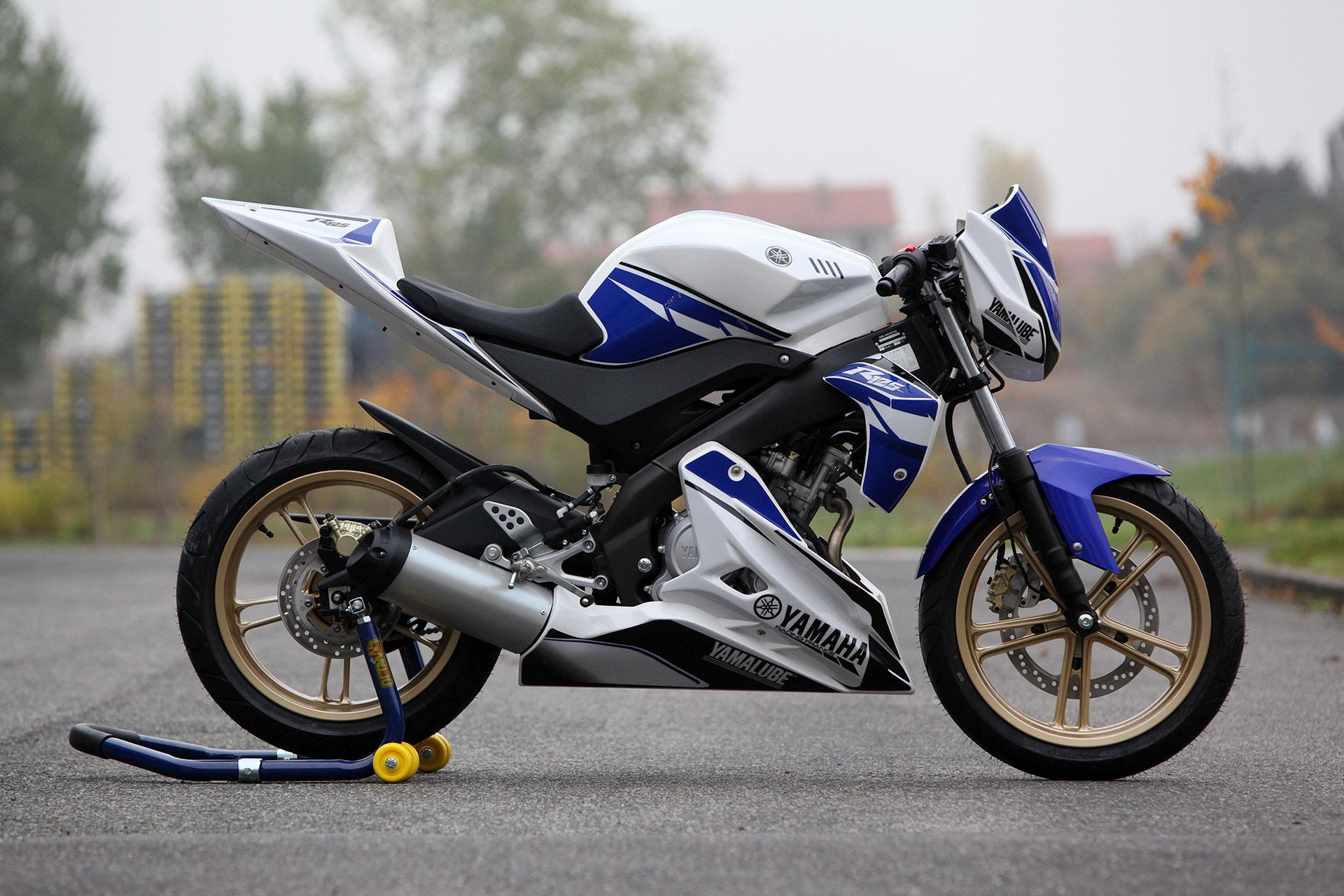 Тест-драйв мотоцикла YZF-125