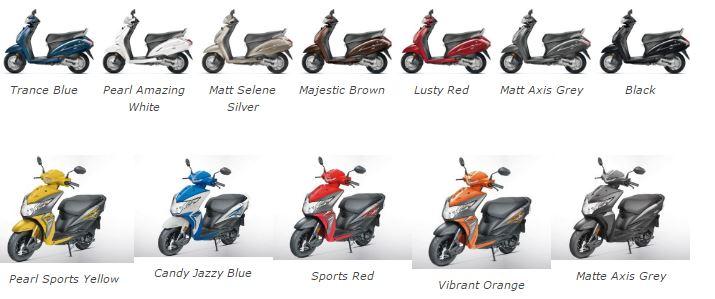 Ролики для скутеров Honda — данные для всех моделей, размер и вес