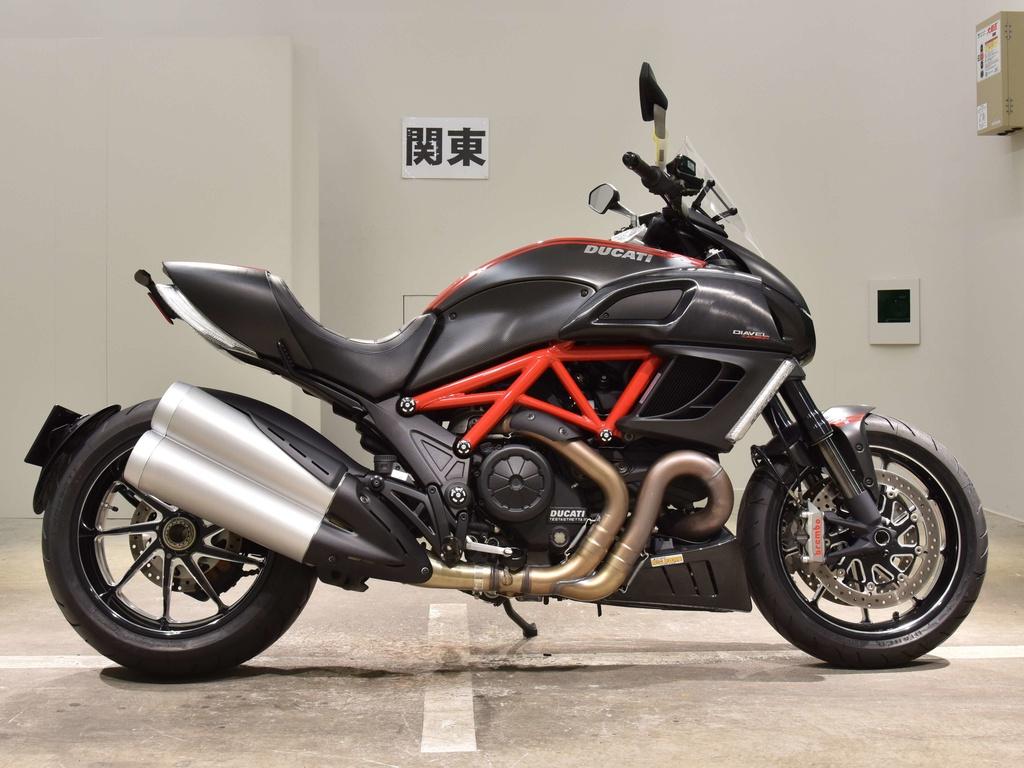 Мотоцикл ducati diavel - фаворит семейства спорт-круизеров