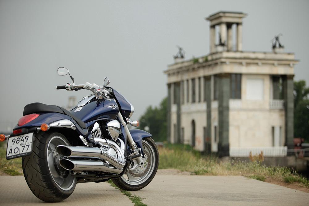 Тест-драйв мотоцикла Suzuki Intruder C1800R (Boulevard C109R)