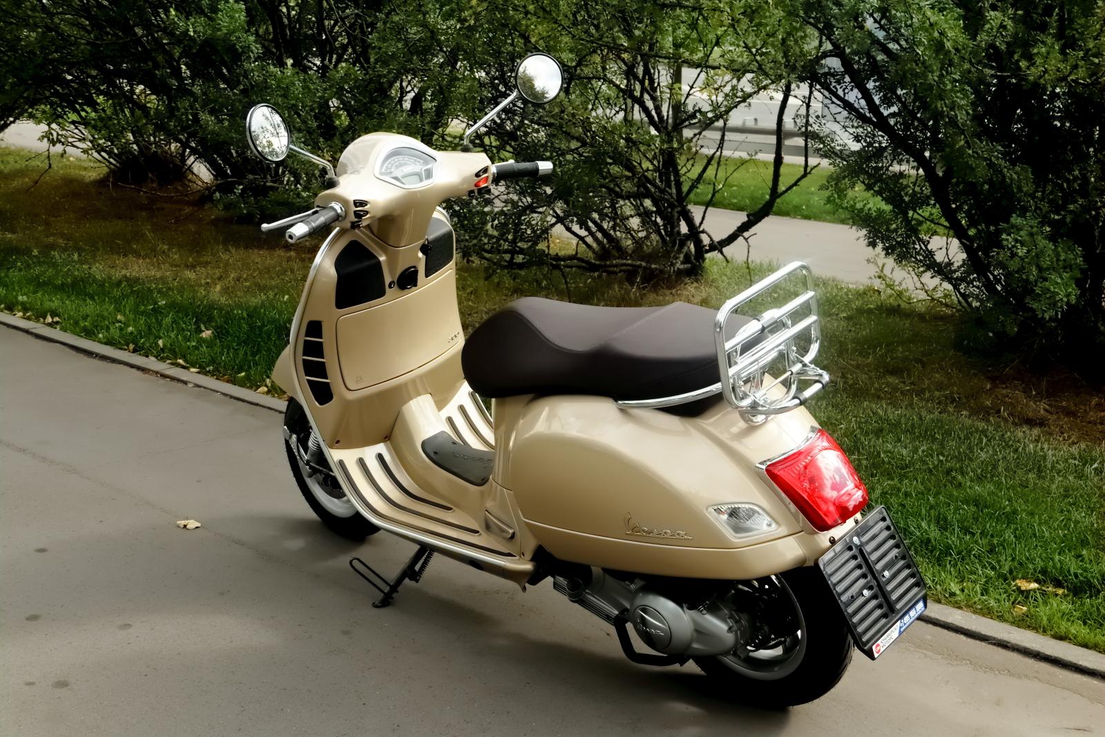Vespa VX 125 – гламурный скутер для индийского среднего класса