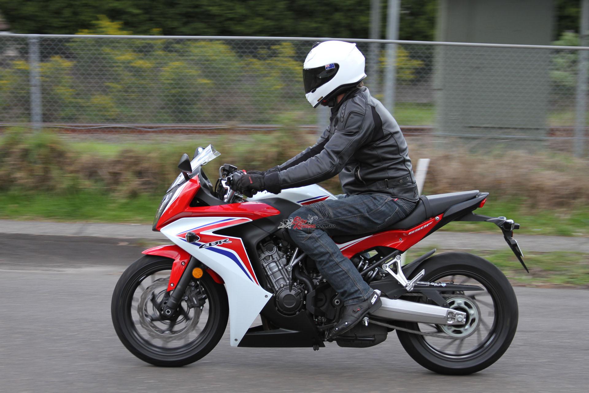 Обзор мотоцикла Honda CBR650F