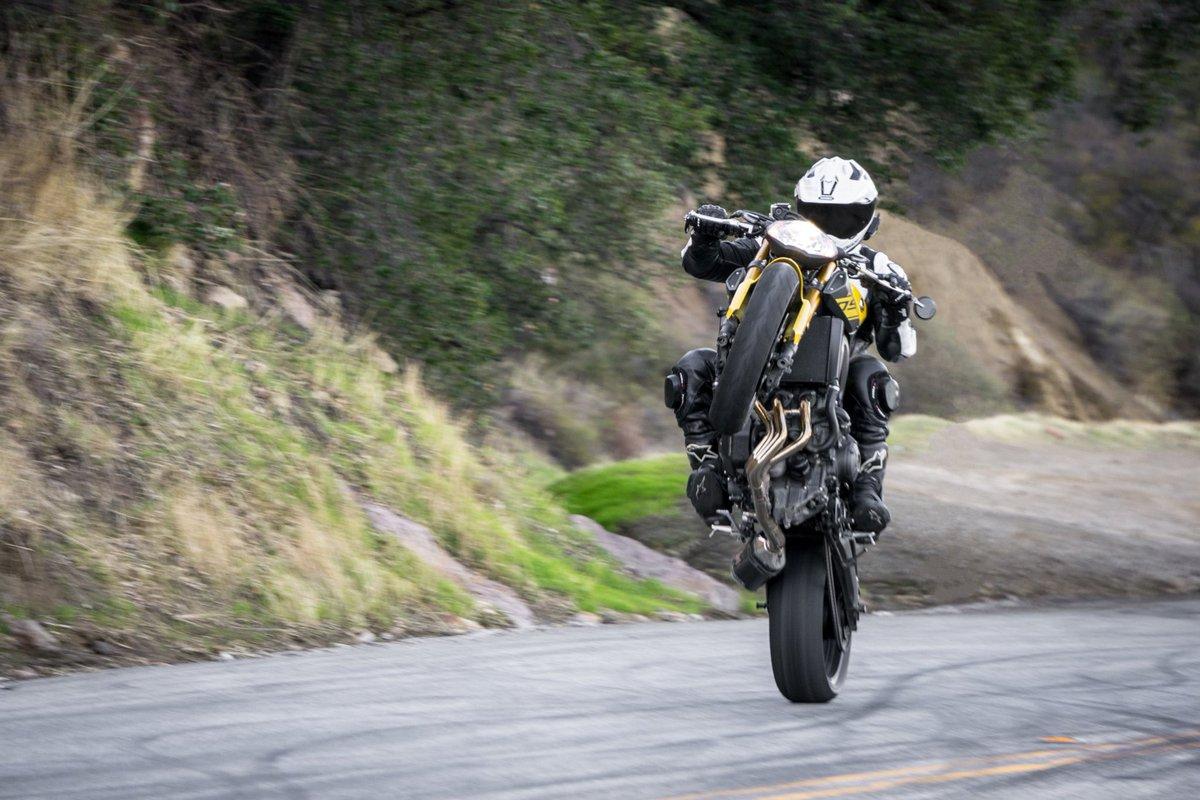 Тест-драйв мотоцикла Yamaha MT-03