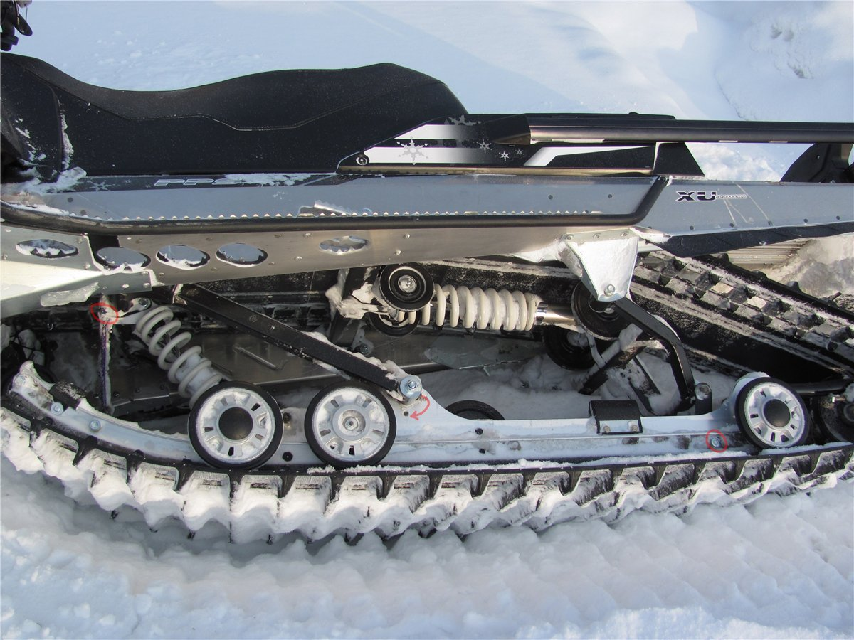Гусеницы для снегохода