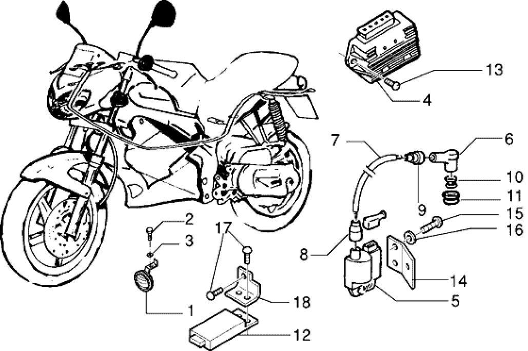 Инструкция по ремонту электропроводки скутера Gilera DNA