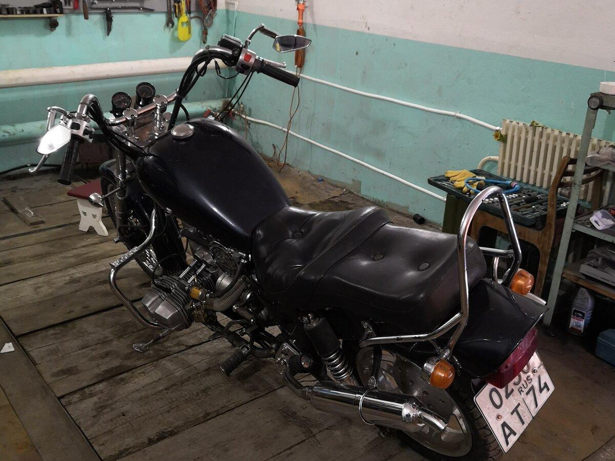 Урал Вояж (Ural Voyag) — чоппер для российских байкеров