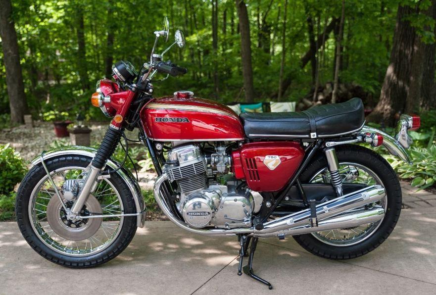 Honda CB750 включили в зал славы автомобилей Японии