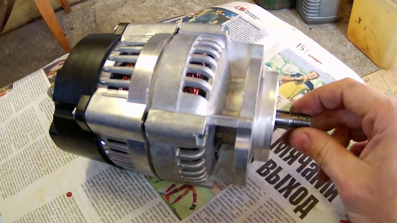 Замена генератора мотоцикла на более продвинутый 1000 или 750 ватный