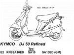 Руководство по ремонту электроприборов легкого мотоцикла Kymco Zing 125