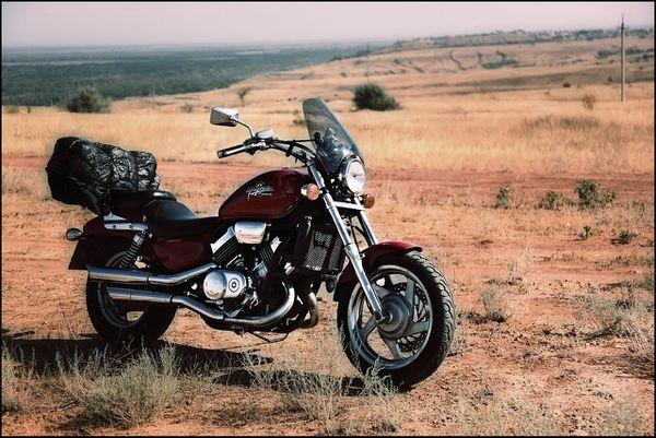 Тест-драйв мотоцикла Honda VTR1000F