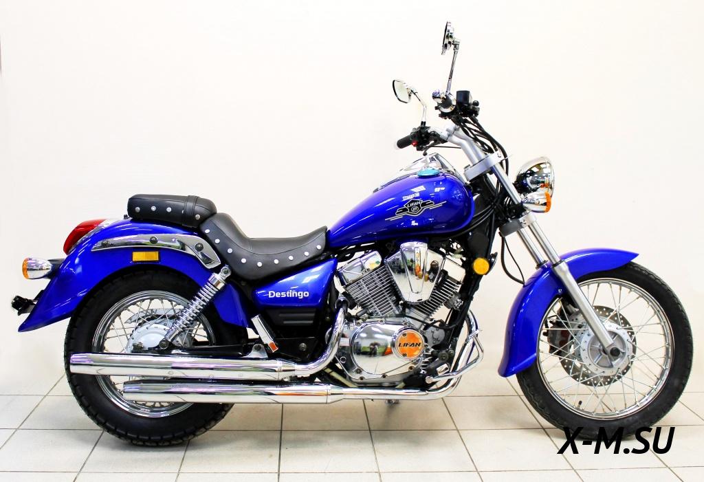 Lifan LF250 B: китайские мотоциклы бывают и качественными.
