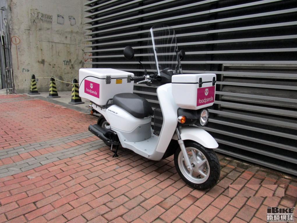 Honda Benly 110 — практичная коммерческая кубатура