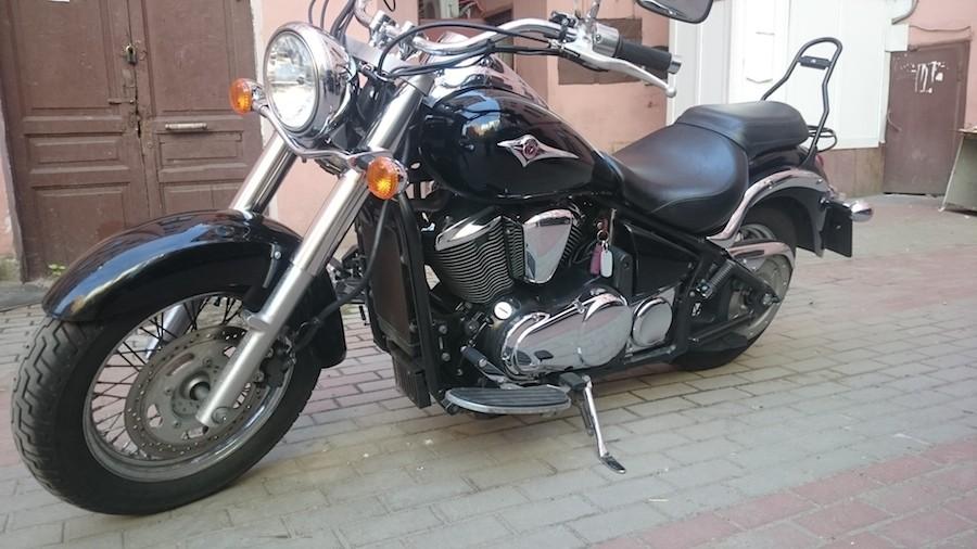 Тест-драйв мотоцикла Kawasaki VN800 Vulcan