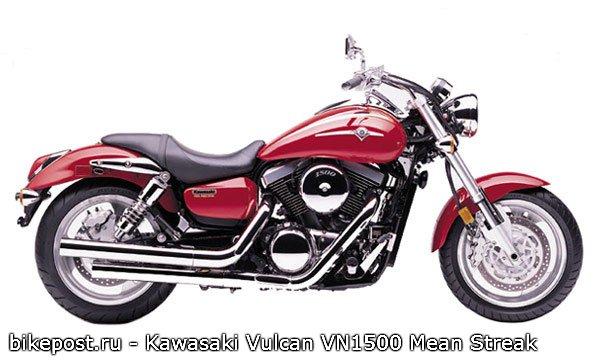 Кавасаки Вулкан 1500 — обзор одного из наиболее популярных Вулканов