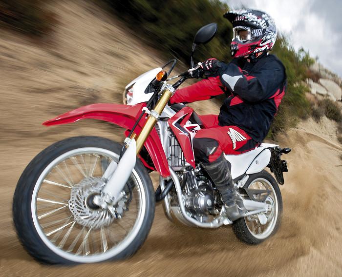 Тест-драйв мотоцикла Honda CRF250L