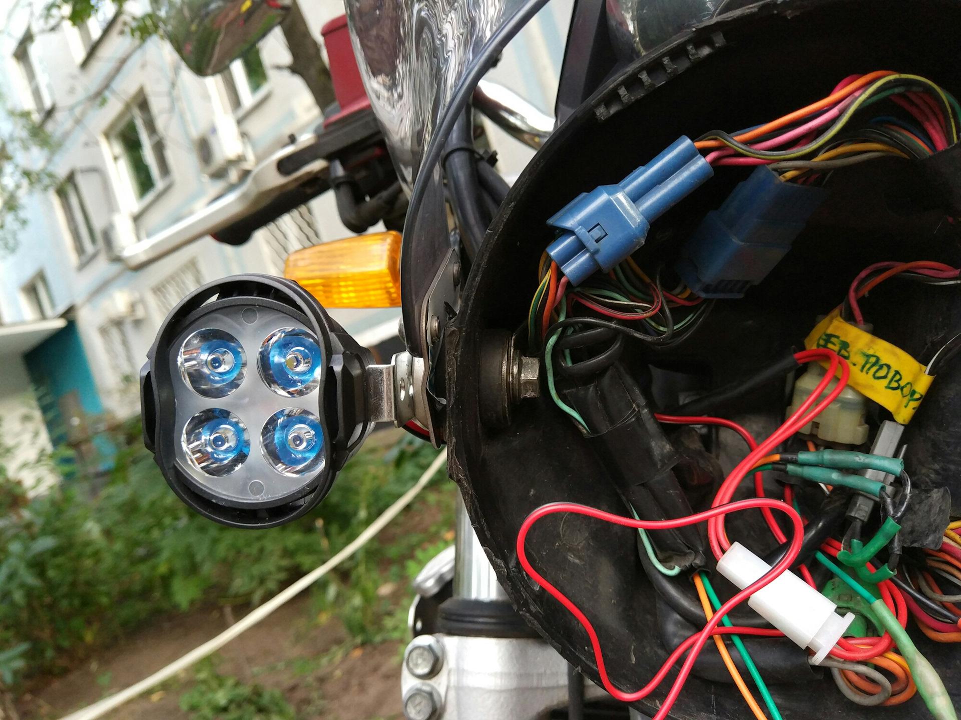 Ксенон на скутере — подробная инструкция по установке, преимущества и недостатки
