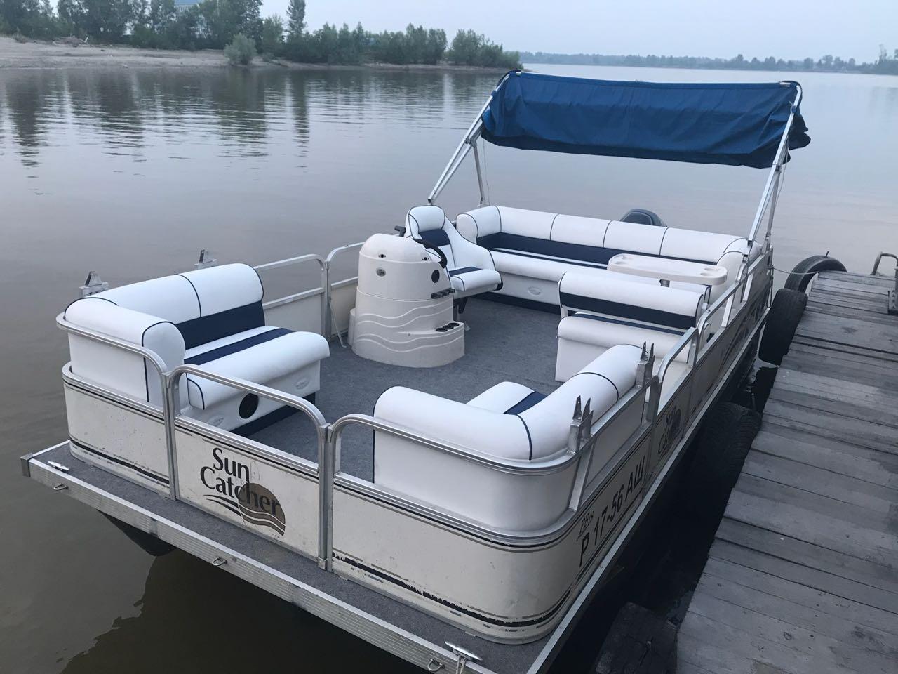 Лодки на понтонах Qwest LS Series