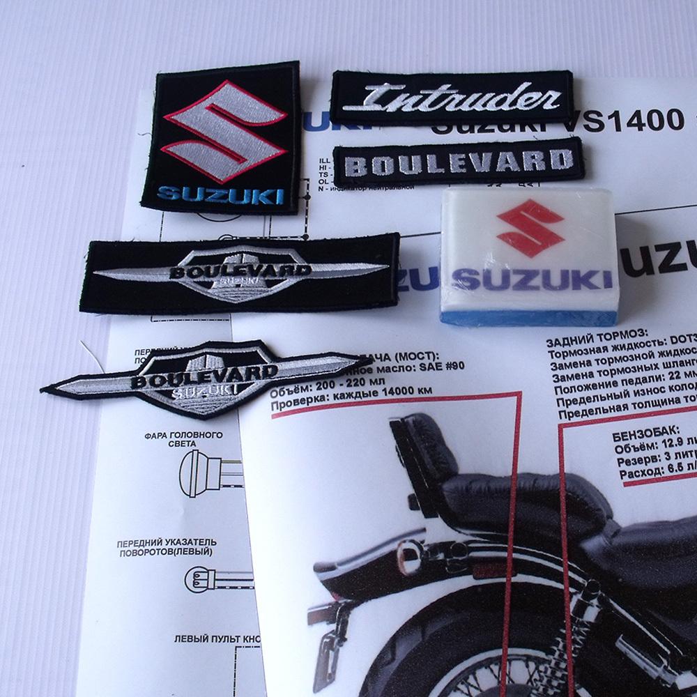 Мануалы и документация для Suzuki Intruder 1400 (VS1400, Boulevard S83)