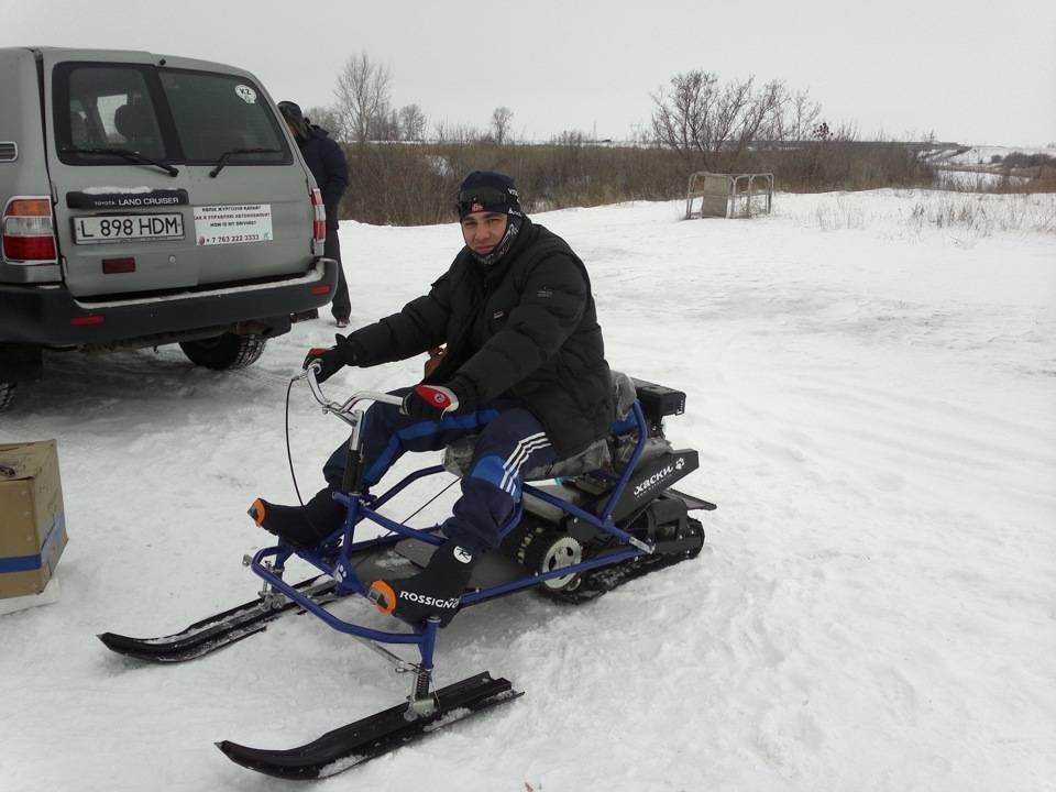 Снегоход хаски — обзор