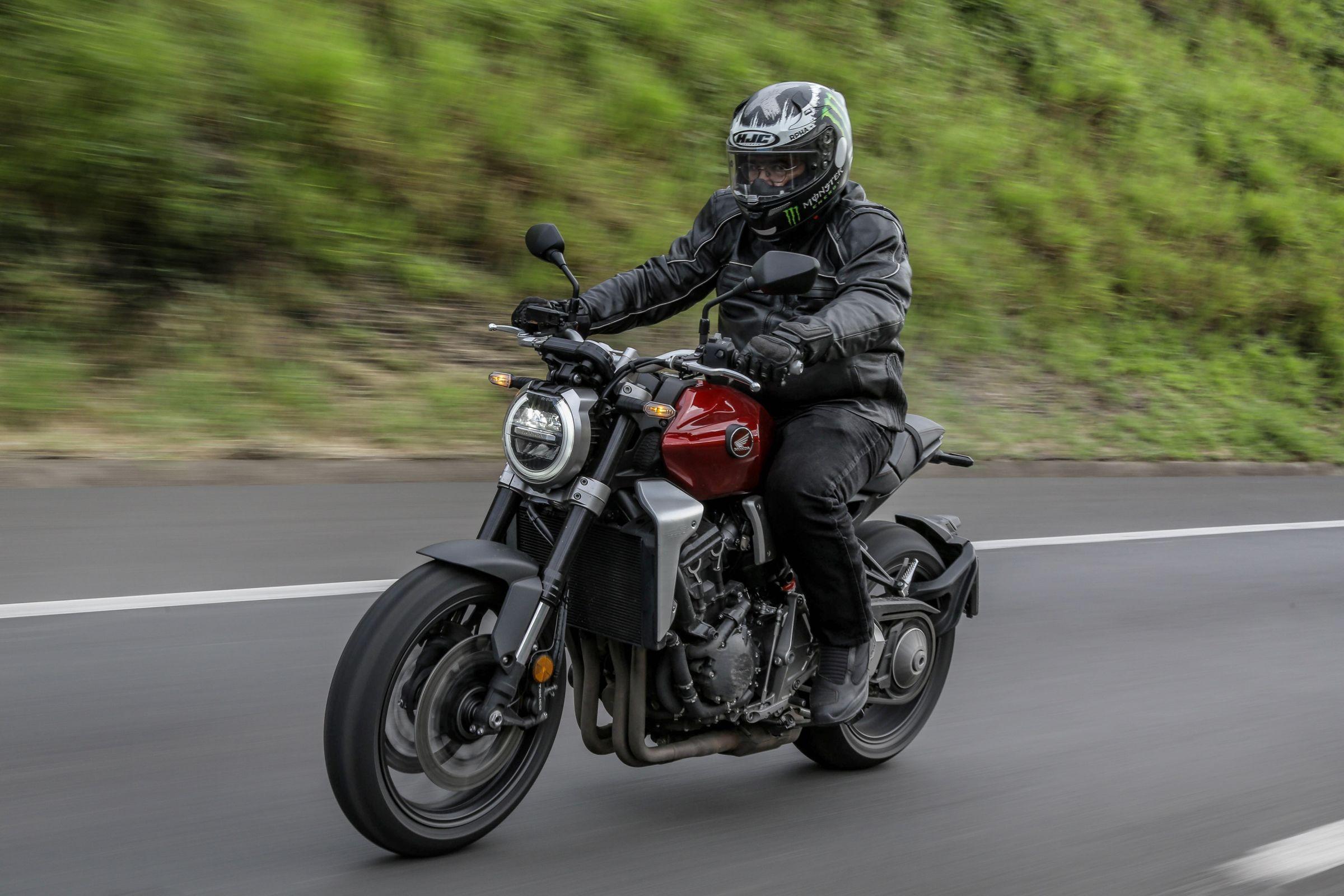 Тест-драйв мотоцикла Honda CB1000R