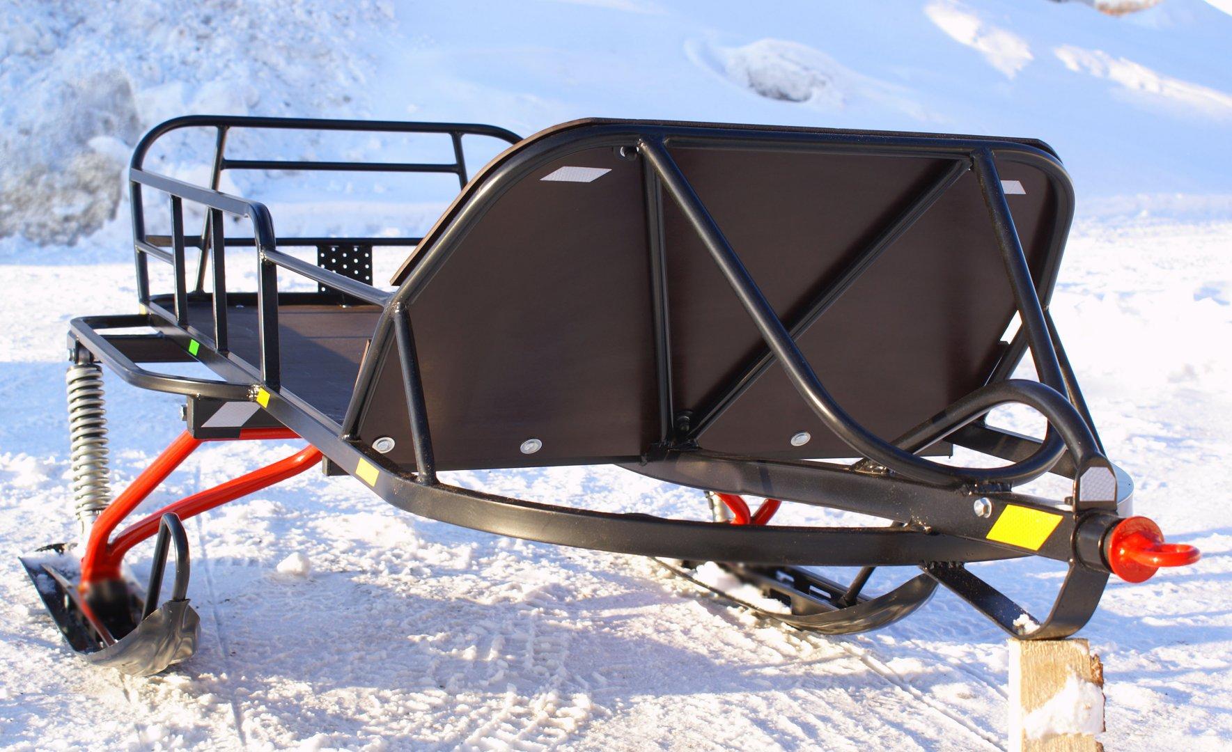 Сани волокуши для снегохода