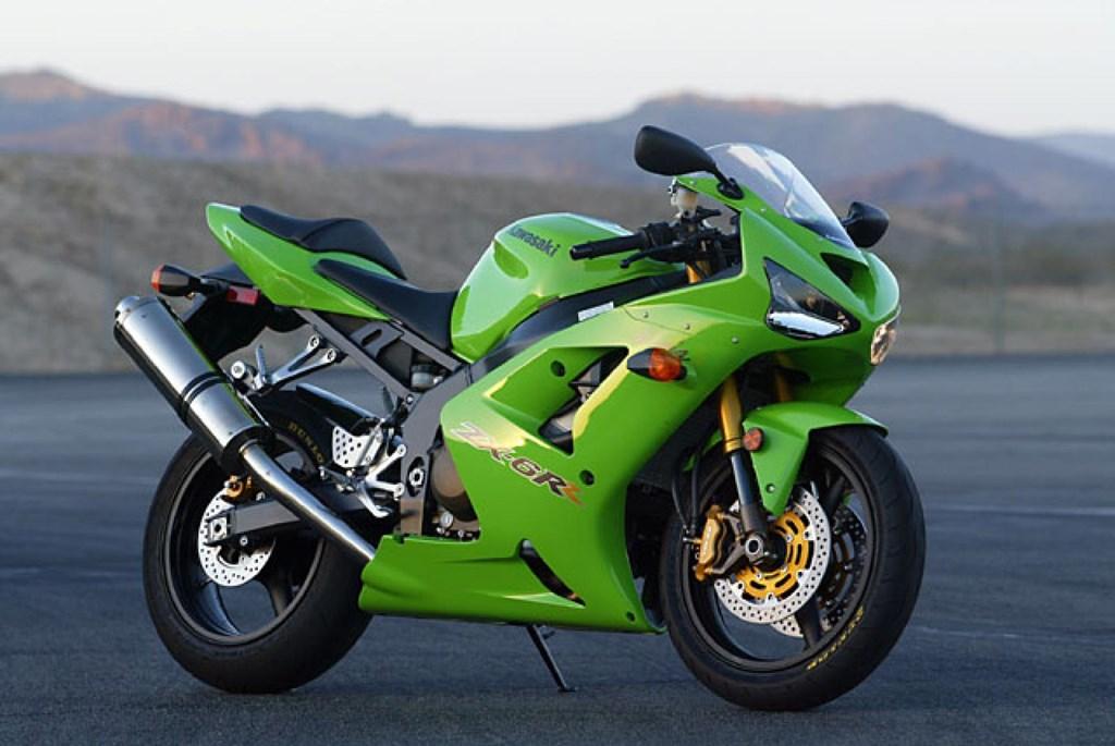 Kawasaki ZX6R — Боец в среднем весе