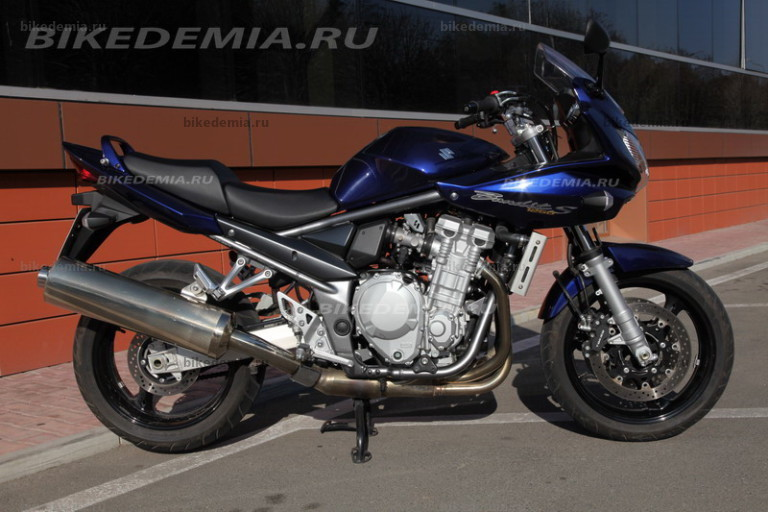 Тест-драйв мотоцикла Suzuki GSF1250S Bandit