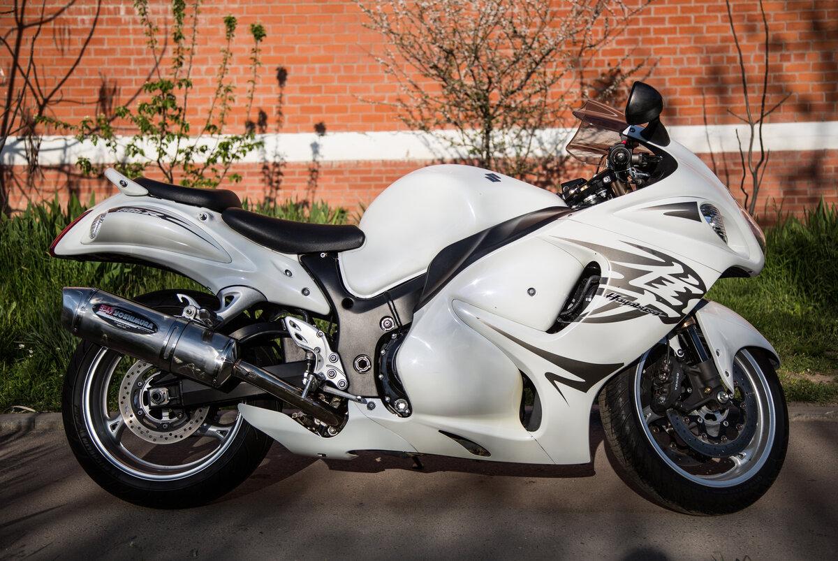 Тест-драйв мотоцикла Suzuki GSX1300R Hayabusa