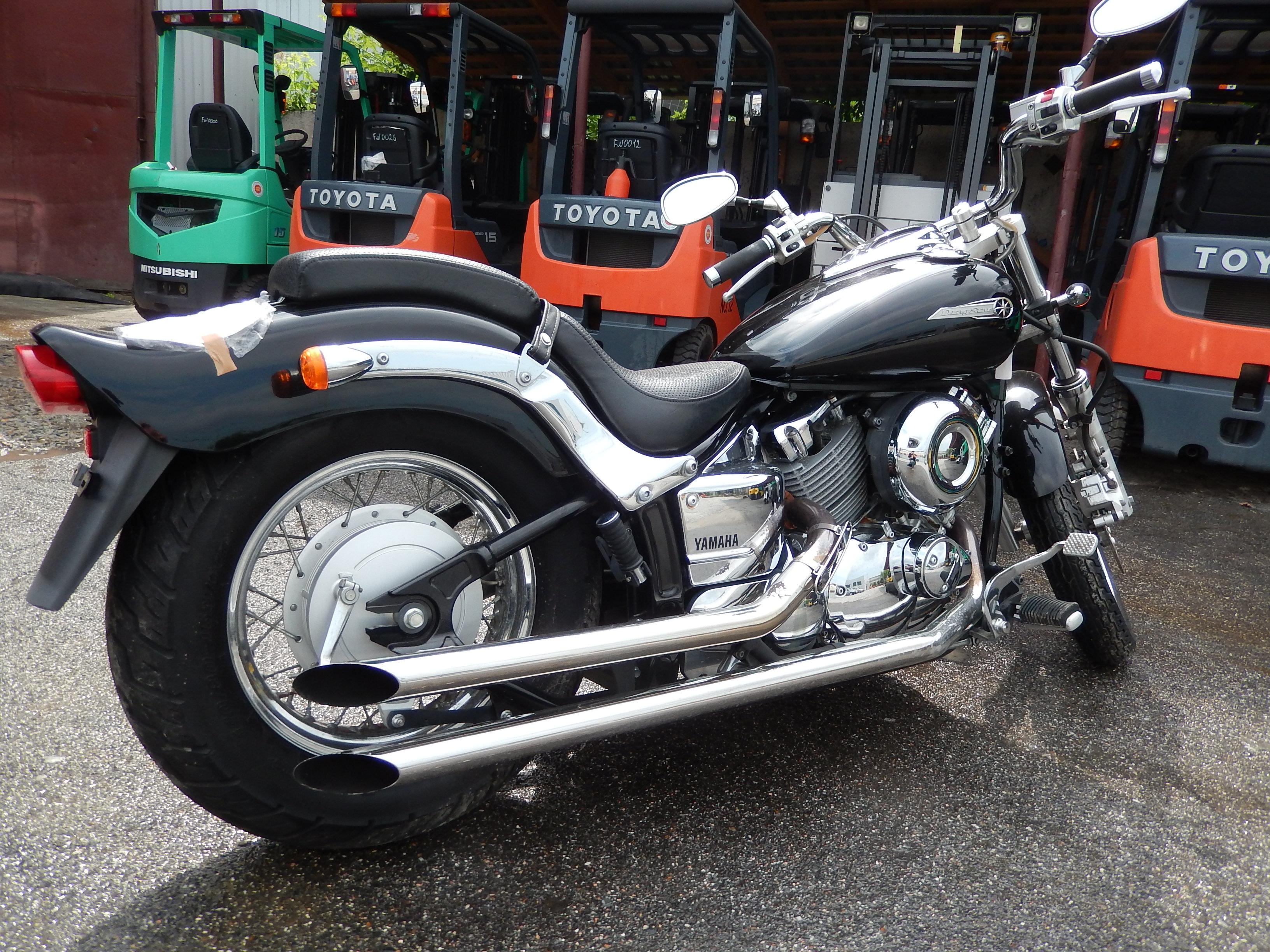 Тест-драйв мотоцикла Yamaha XVS400 Drag Star