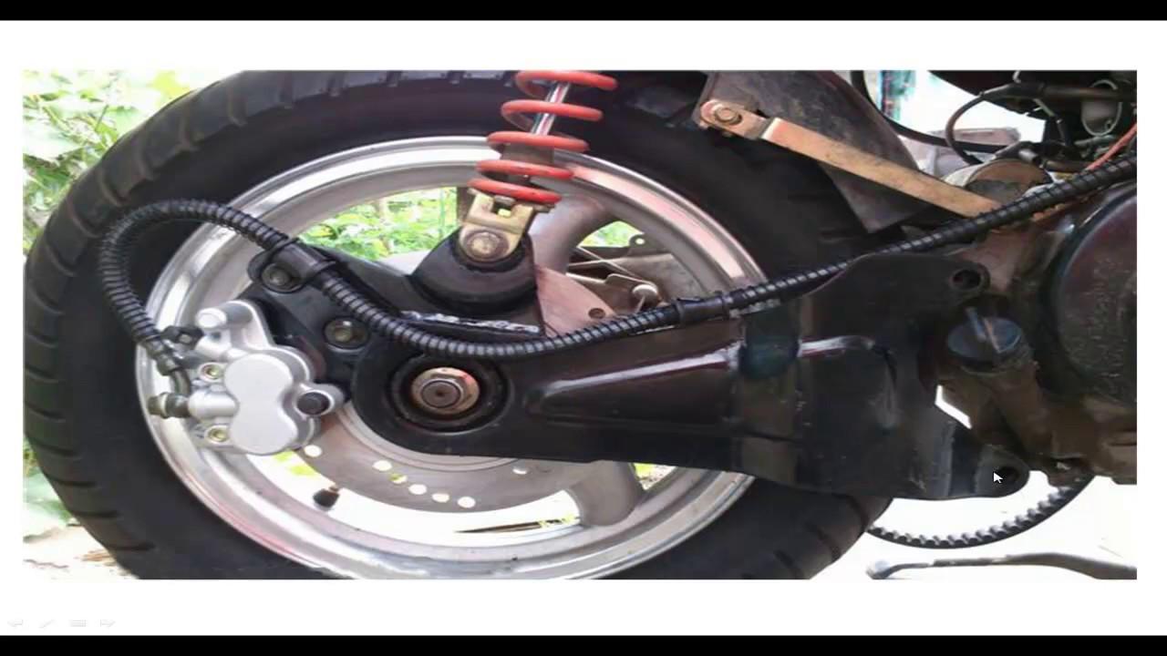 Обслуживание барабанного тормоза на скутере