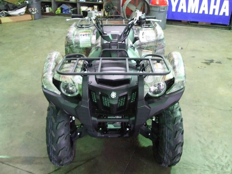 Yamaha Grizzly (Ямаха Гризли) 550 FI — лидер в своем классе по мощности
