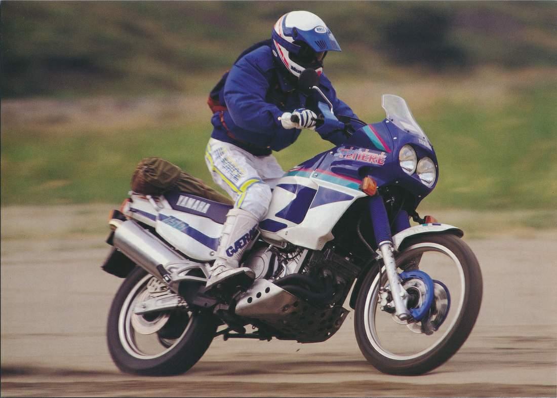 Тест-драйв мотоцикла Yamaha XTZ750 Super Tenere