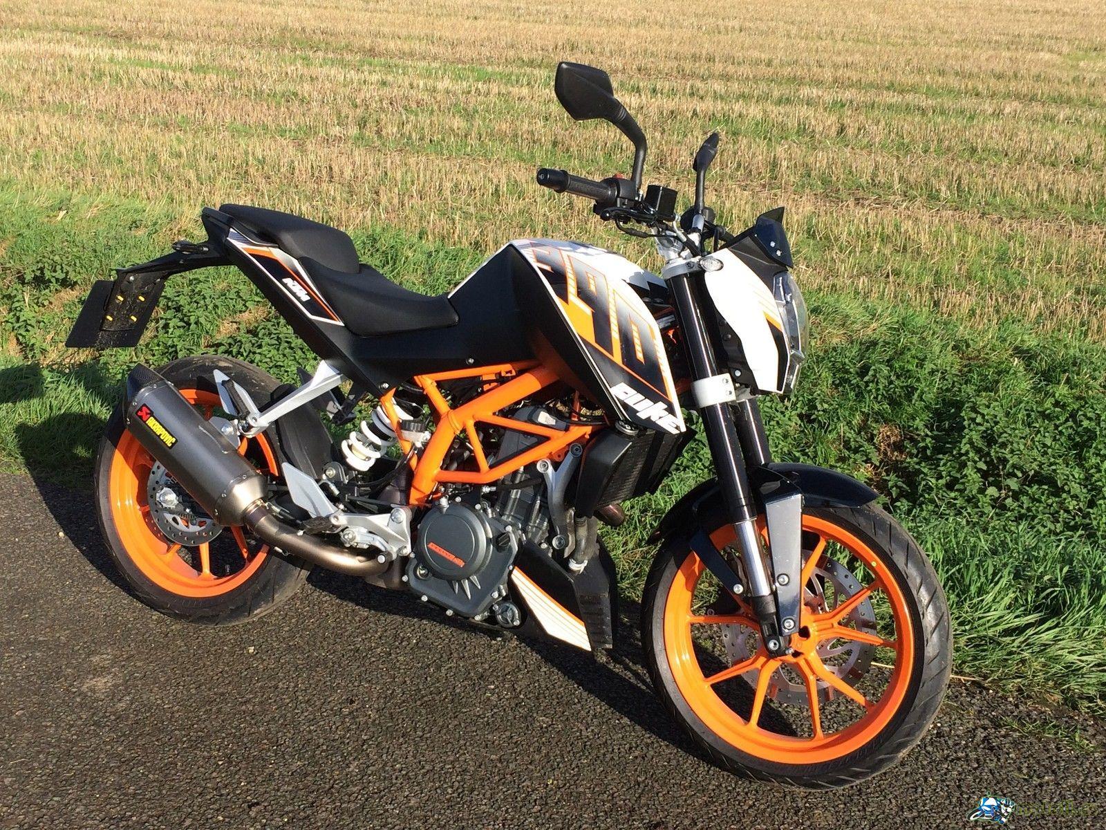 Обзор мотоцикла KTM Duke 390