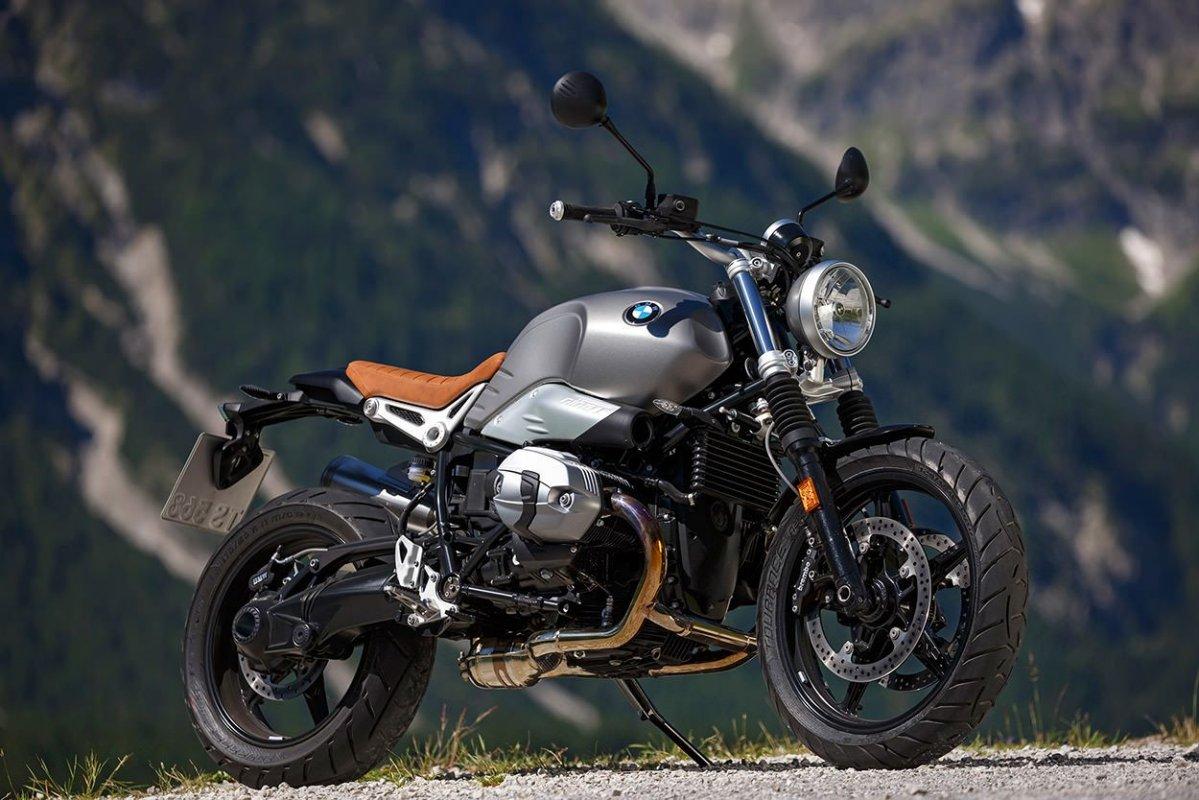 Смесь ретро и современности: BMW R Nine T