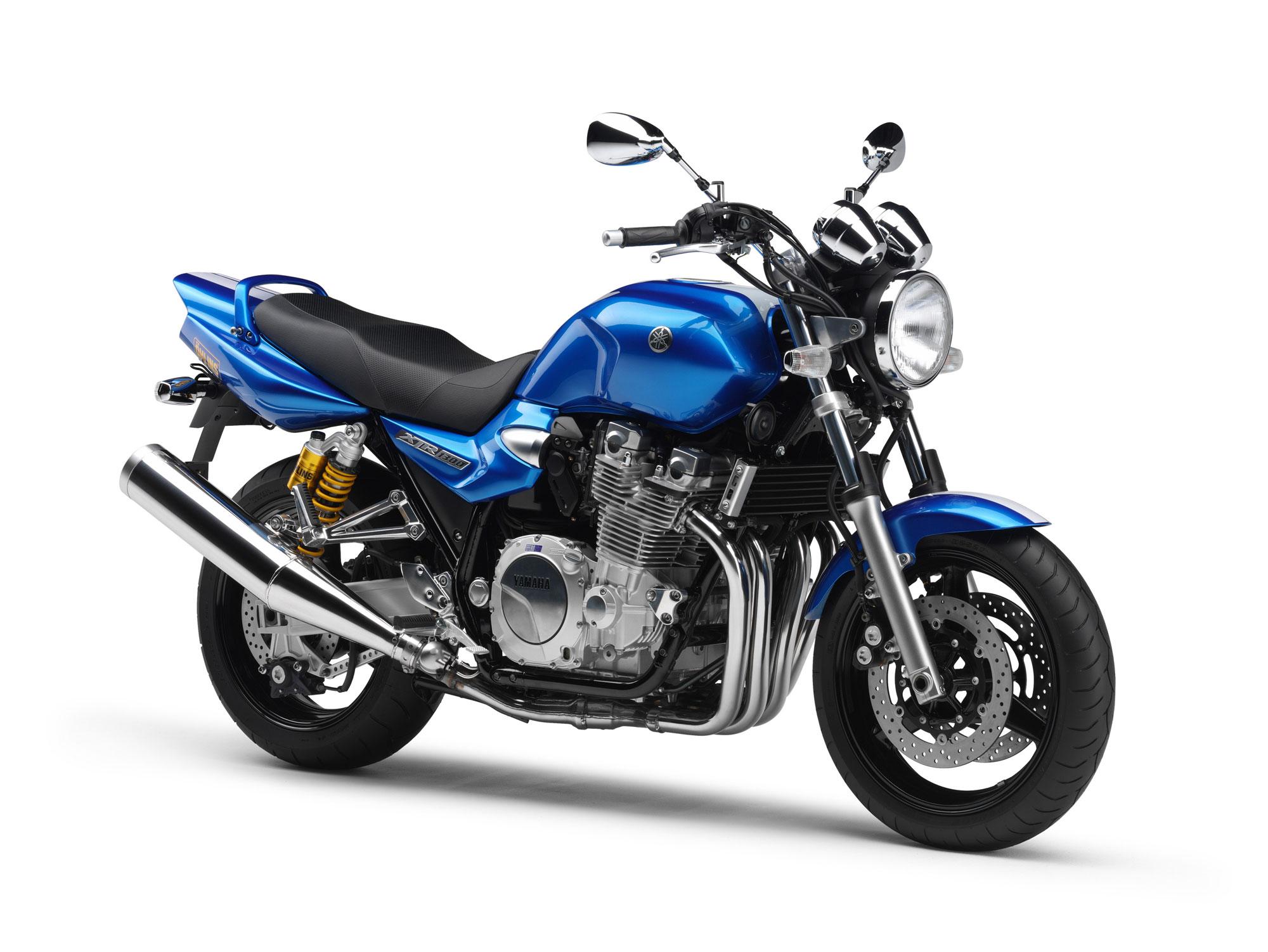 Тест-драйв мотоцикла Yamaha XJR1200