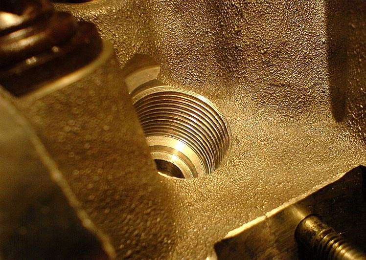 Восстановление и ремонт резьбовых соединений в конструкции скутера