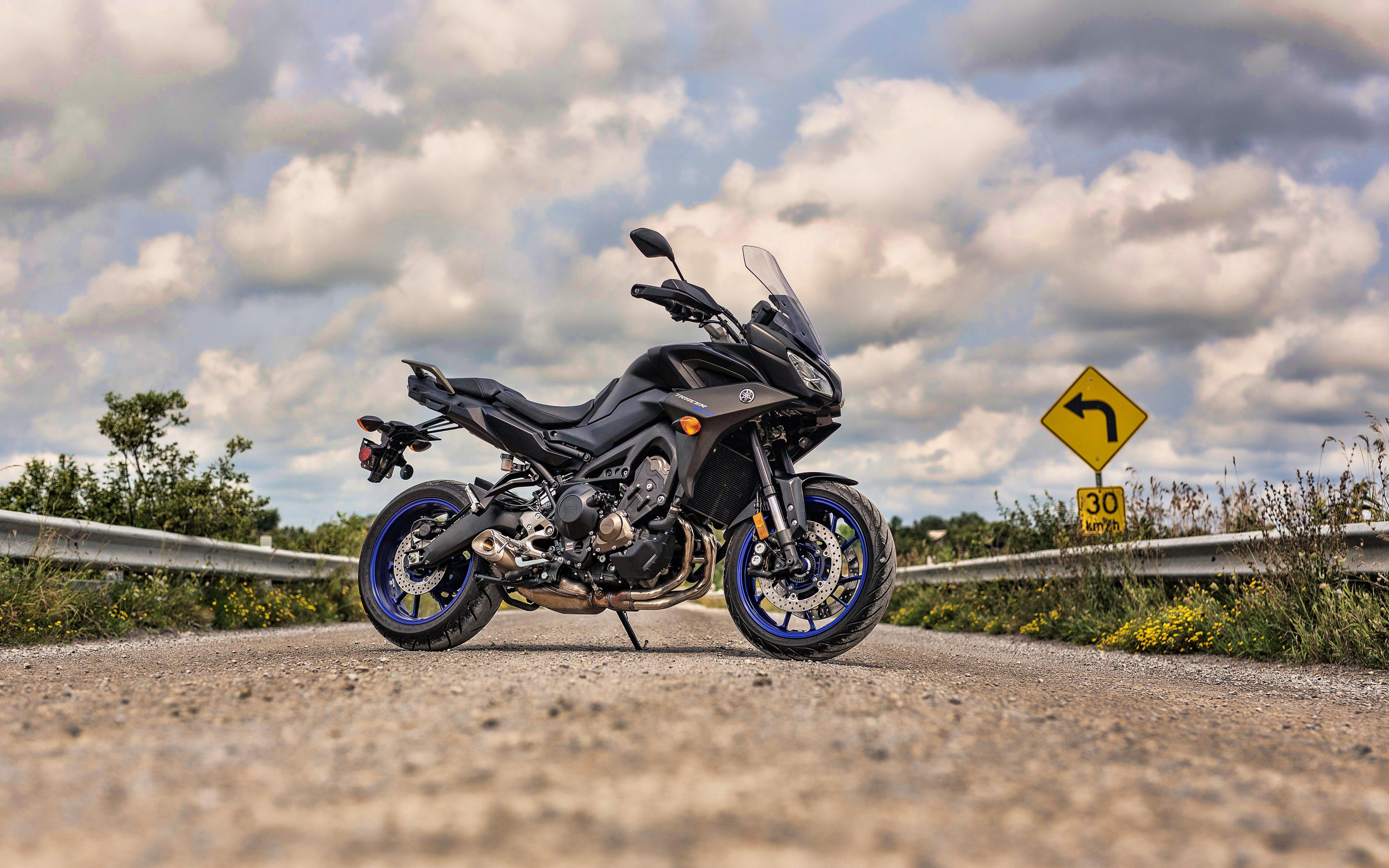 Тест-драйв мотоцикла Yamaha MT-09 Tracer
