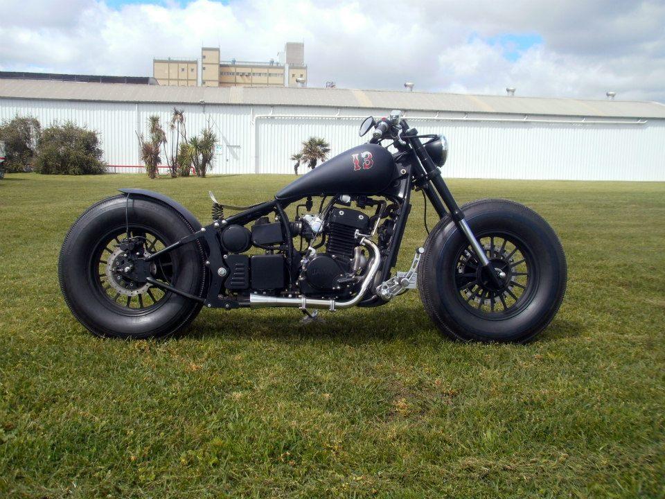 Знакомимся с мотоциклом в стиле Bobber (Боббер)