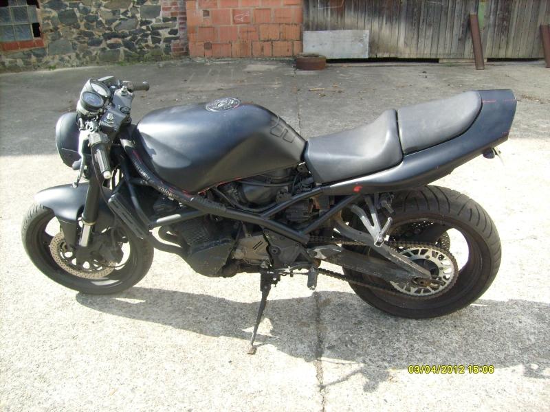 Замена цепи и звезд на мотоцикле Suzuki GSF 400 bandit